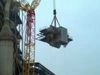 Echipamente pentru ridicare si transportul structurilor demolate