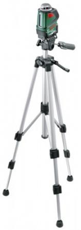 Set nivelă cu laser pe trepied Bosch