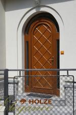 Ușă rezidențială cu arcadă