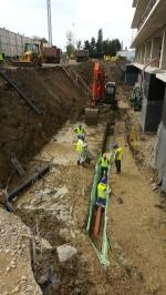 Excavatie generala si drenuri UBC 2