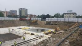 Excavatie generala si sprijiniri ISHO Timisoara