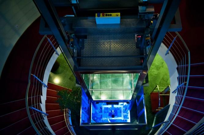Sistem ascensor modern