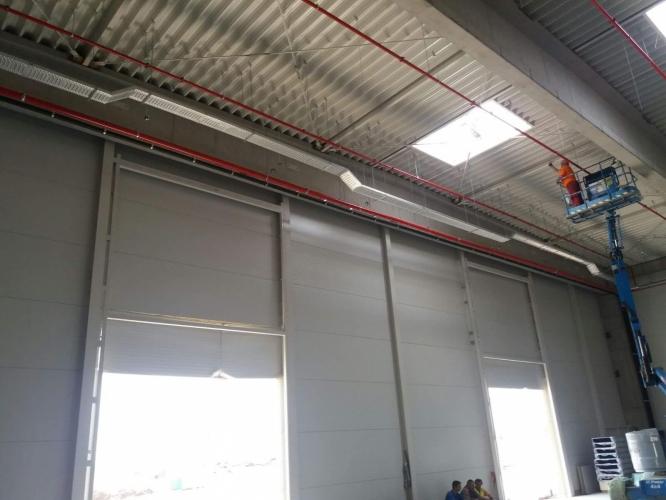 Instalatii electrice interioare - hala