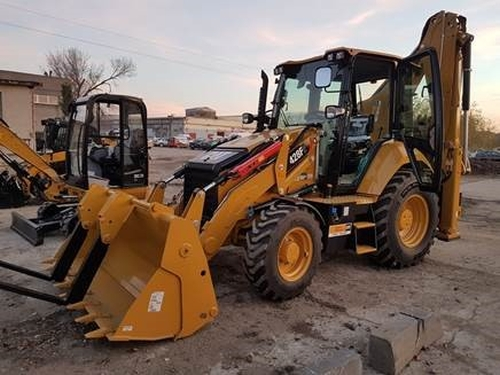 1 Buldoexcavator Caterpillar model  428 F2